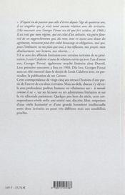 Correspondance 1969-1993 - 4ème de couverture - Format classique