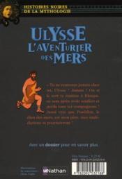 Ulysse ; l'aventurier des mers - 4ème de couverture - Format classique