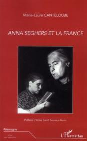 Anna Seghers et la France - Couverture - Format classique