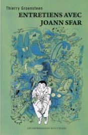 Entretiens avec Joann Sfar - Couverture - Format classique