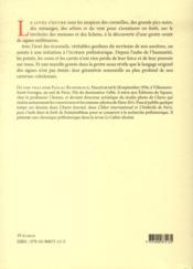 Territoire des mousses et des lichens - 4ème de couverture - Format classique