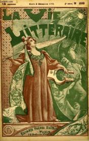 Le Defi. La Vie Litteraire. - Couverture - Format classique