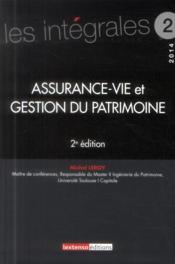Assurance-vie et gestion du patrimoine (2e édition) - Couverture - Format classique