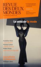 REVUE DES DEUX MONDES ; la mode - Couverture - Format classique