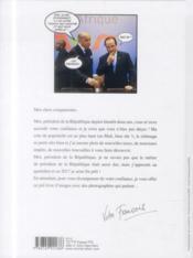 Hollande, ô désespoir ! - 4ème de couverture - Format classique