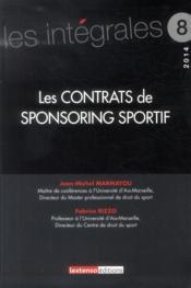 Les contrats de sponsoring sportif - Couverture - Format classique