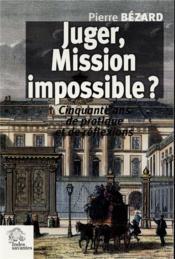 Juger mission impossible - Couverture - Format classique