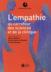 L'empathie au carrefour des sciences et de la clinique - Couverture - Format classique
