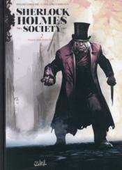 Sherlock Holmes Society T.2 ; noires sont leurs âmes - Couverture - Format classique