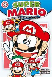 Super Mario ; manga adventures T.8 - Couverture - Format classique