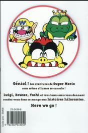 Super Mario ; manga adventures T.8 - 4ème de couverture - Format classique