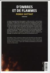 D'ombres et de flammes - 4ème de couverture - Format classique