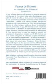 Figures de l'homme ; au croisement des différences Europe-Asie - 4ème de couverture - Format classique
