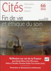 Revue Cites N.66 ; Fin De Vie Et Ethique Du Soin - Couverture - Format classique
