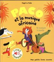 Paco et la musique africaine - Couverture - Format classique