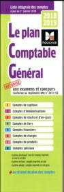 Plan comptable général (édition 2018/2019) - Couverture - Format classique