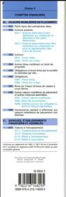 Plan comptable général (édition 2018/2019) - 4ème de couverture - Format classique