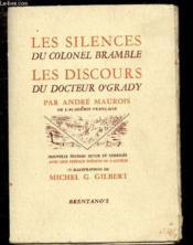 Les Silences Du Colonel Bramble, Les Discours Du Docteur O'Grady - Nouvelle Edition Revue Et Corrigee Avec Une Preface Inedite De L'Auteur - Couverture - Format classique