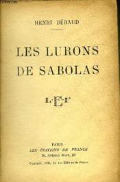 Les Lurons De Sabolas. - Couverture - Format classique