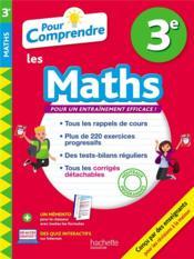 Pour comprendre les maths ; 3e - Couverture - Format classique