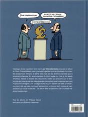 Le Chat HORS-SERIE ; le chat déambule - 4ème de couverture - Format classique