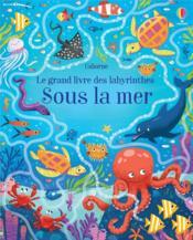 Sous la mer : le grand livre des labyrinthes - Couverture - Format classique