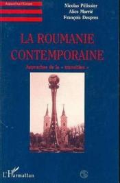 Roumanie Contemporaine (La)Approches De La Transition - Couverture - Format classique