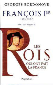 François Ier - Couverture - Format classique