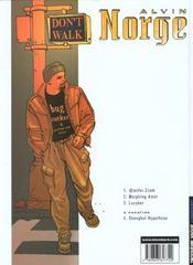 Alvin Norge t.3 ; lucyber - 4ème de couverture - Format classique