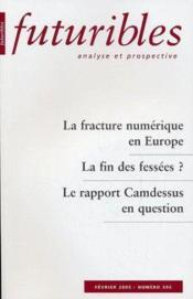 La fracture numerique en europe - Couverture - Format classique