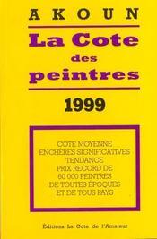 La cote des peintres 1999 - Intérieur - Format classique