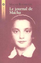 Journal de macha, le - Intérieur - Format classique