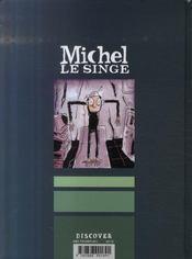 Michel le singe - 4ème de couverture - Format classique