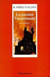 Passion torquemada (la) tome 1 - tourments - Couverture - Format classique
