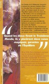 La Malerune 3 - La Belle Arcane - 4ème de couverture - Format classique