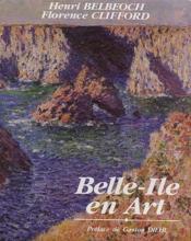 Belle-Ile en art - Couverture - Format classique