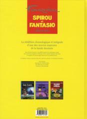 Les aventures de Spirou et Fantasio ; INTEGRALE VOL.10 ; 1972-1975 - 4ème de couverture - Format classique