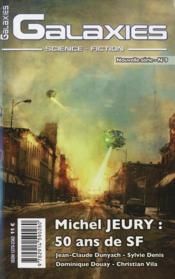 Revue Galaxies Sf ; Michel Jeury, 50 Ans De Sf - Couverture - Format classique