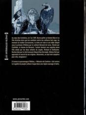 Mémoire de cendres ; intégrale t.1 à t.5 - 4ème de couverture - Format classique