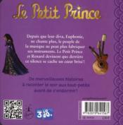 Le petit prince t.3 ; le secret d'Euphonie - 4ème de couverture - Format classique