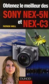 Obtenez le meilleur des Sony Nex-5N et Nex-C3 - Couverture - Format classique