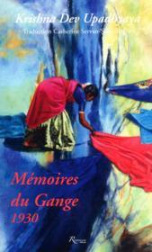 Mémoires du Gange ; 1930 - Couverture - Format classique