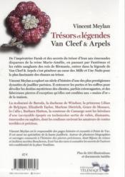 Trésors de légendes ; Van Cleef et Arpels - 4ème de couverture - Format classique
