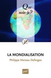 La mondialisation (9e édition) - Couverture - Format classique