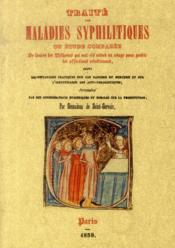 Traité des maladies syphilitiques - Couverture - Format classique