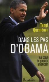 Dans les pas d'Obama - Couverture - Format classique
