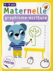 Graphisme-écriture ; moyenne section - Couverture - Format classique