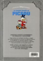 La grande épopée de Picsou ; INTEGRALE VOL.4 ; trésor sous cloche et autres histoires - 4ème de couverture - Format classique