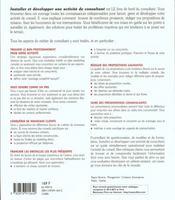 Guide Du Consultant Independant - 4ème de couverture - Format classique