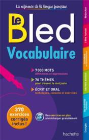 BLED ; vocabulaire - Couverture - Format classique